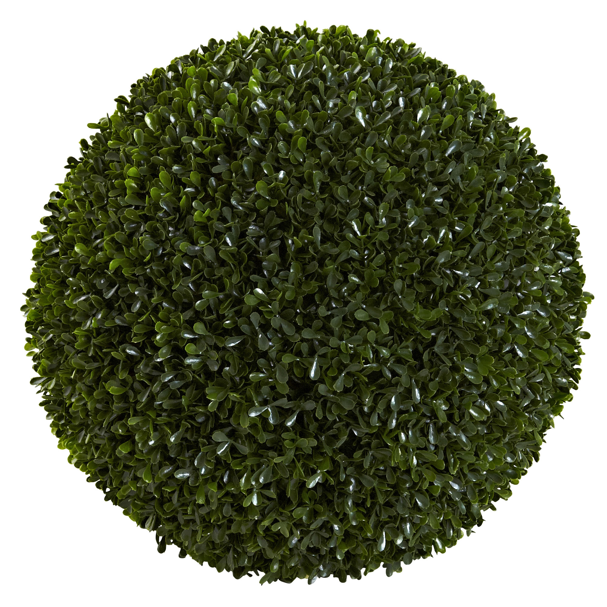 Nearly Natural 14 in. Boxwood Ball (Indoor/Outdoor)