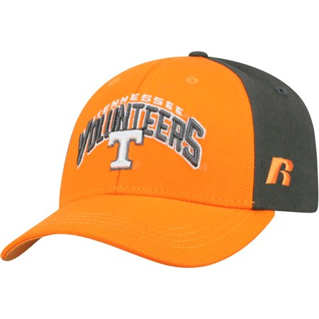Youth Russell Tennessee Orange/Gray Tennessee Volunteers Tastic Adjustable Hat - - Tennessee Top Hat