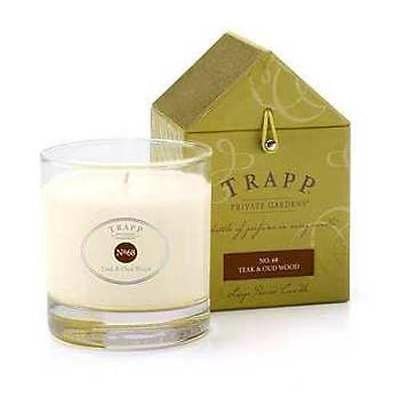 Trapp Candle Flowers - Trapp Candles Teak & Oud Wood No. 68