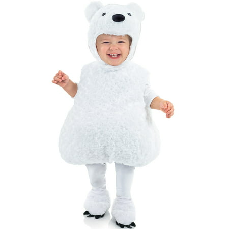 Polar Bear Toddler Costume (Kids Polar Bear Costume)
