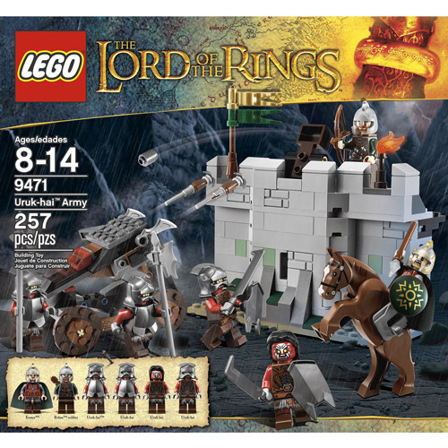 LEGO Lord of the Rings Uruk-hai Army Play Set