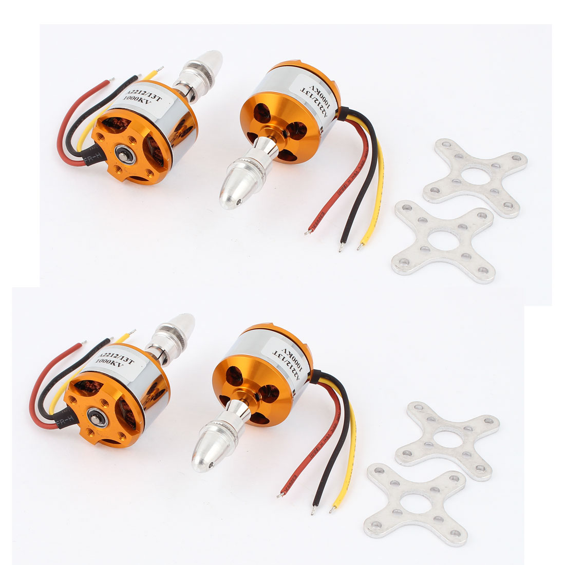 4pcs A2212 1000KV Brushless Outrunner Motor for RC Plane Helicopter Quadcopter
