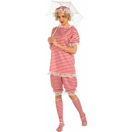 Womens 1920's Bathing Suit Costume - 1920s Baseball Costume