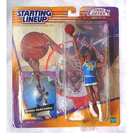 Kareem Abdul Jabbar   Ucla Bruins 1998 Edition College Basketball Starting Lineup   Exclusive Collector Trading Card   Nba   By Hasbro
