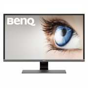 "BenQ 31.5"" Entertainment Monitor with Eye-care Technology, Metallic Gray"