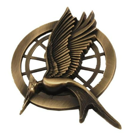 The Catching Fire Movie Prop Replica Mockingjay Pin