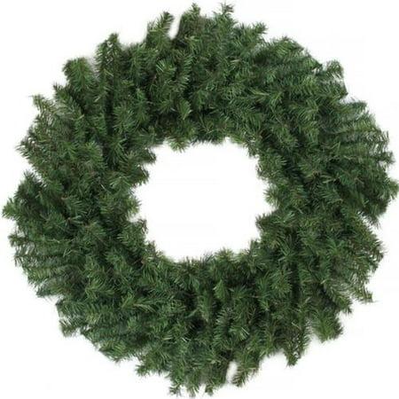 "24"" Canadian Pine Artificial Christmas Wreath - Unlit"