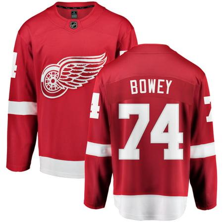 buy online 57b31 40754 Madison Bowey Detroit Red Wings NHL Fanatics Breakaway Home Jersey    Walmart Canada