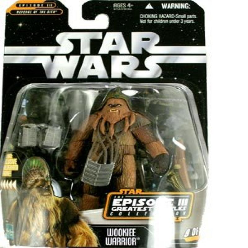 Star Wars Greatest Hits Basic Figure Episode 3 Wookie Warrior