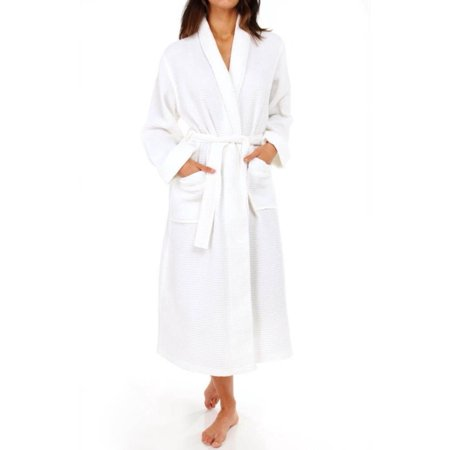 Women's KayAnna S01156 Waffle Shawl Collar Spa Robe