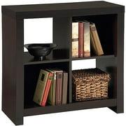 Larkin 4-Cube Storage by Ameriwood, Espresso Black Forrest