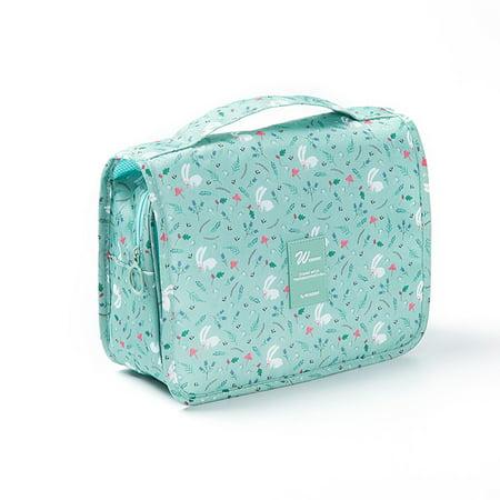 67bca5bf1766 Fascigirl Makeup Bag Fashion Portable Hanging Toiletry Bag Waterproof  Makeup Organizer Cosmetic Storage Case Kit with Hanging Hook Travel  Accessories ...