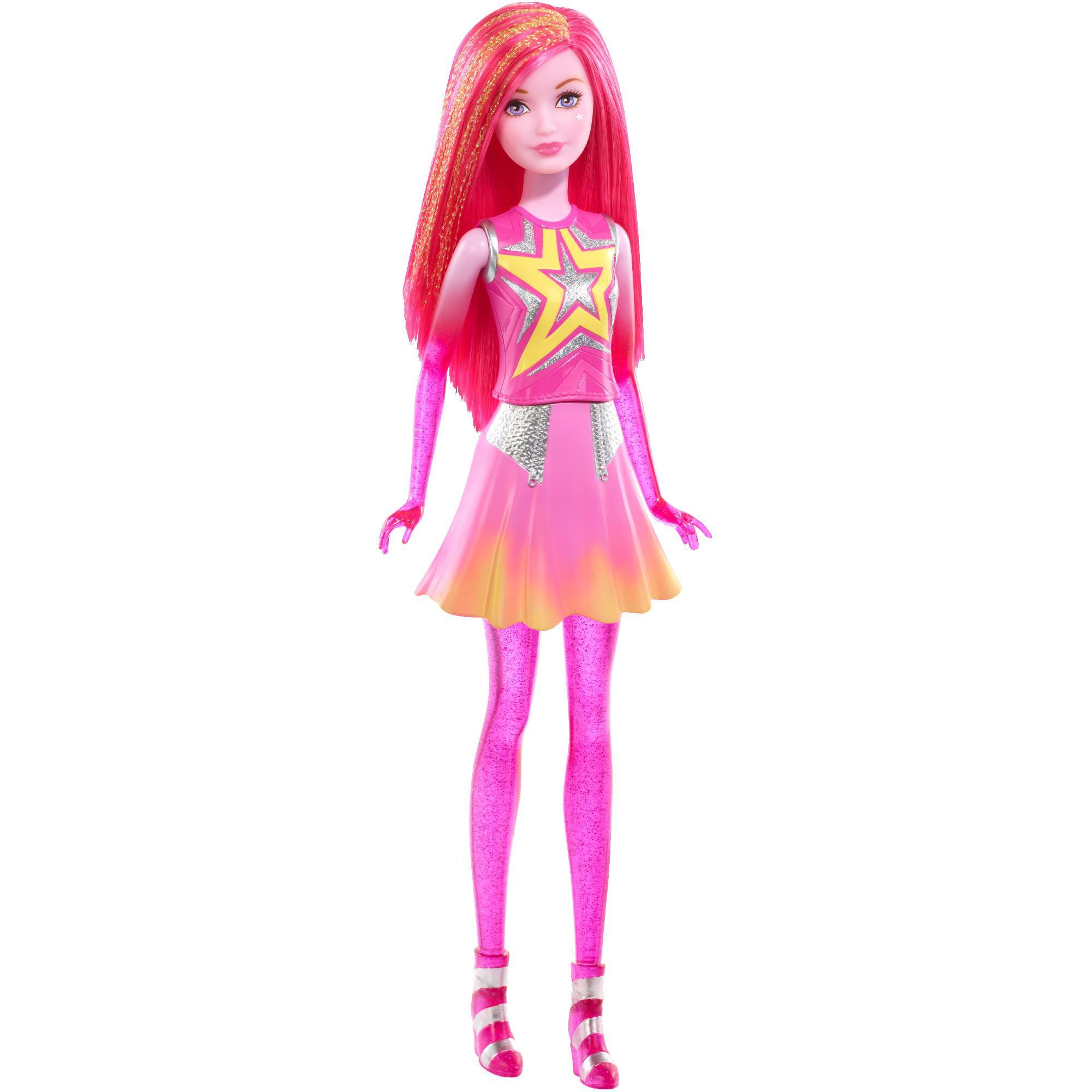 barbie star light adventure pink space twin doll walmartcom