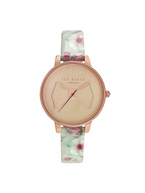 WATCH  TED BAKER STAINLESS STEEL PINK  PINK GREEN WOMEN  TE50533001