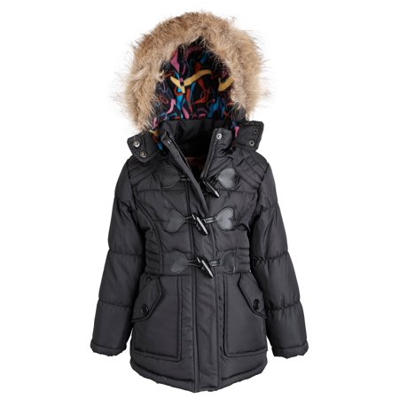 f1f1b58aa Urban Republic - Urban Republic Little Girls Faux Down Fleece Lined ...