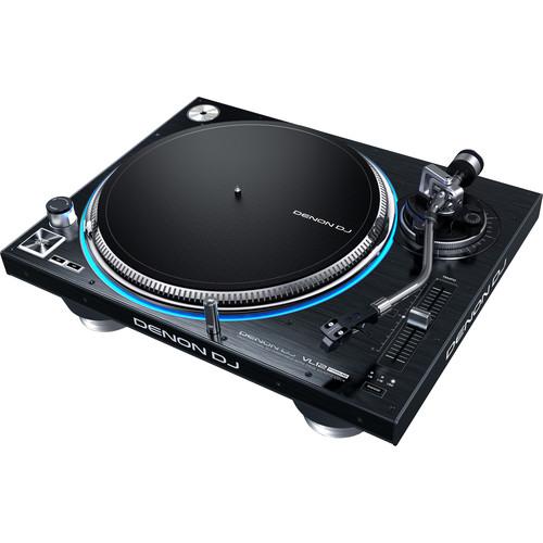 Denon DJ VL12 Prime Professional Direct Drive Turntable with True Quartz Lock by