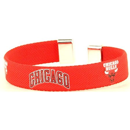 Chicago Bulls Ribbon Band Bracelet