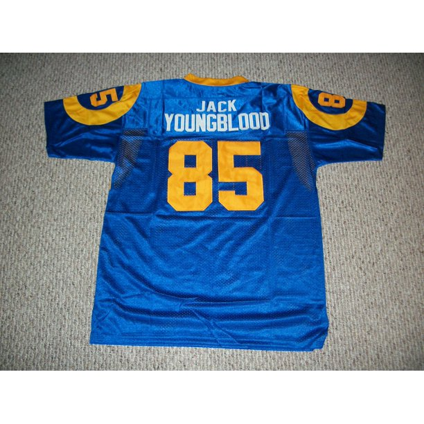 Jack Youngblood Jersey #85 Los Angeles Unsigned Custom Stitched Blue Football New No Brands/Logos Sizes S-3XL