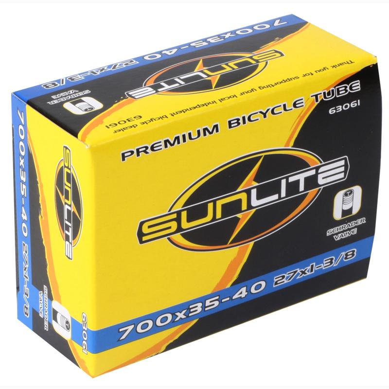 Sunlite Bicycle Tube 700 x 35-40c Schrader Valve