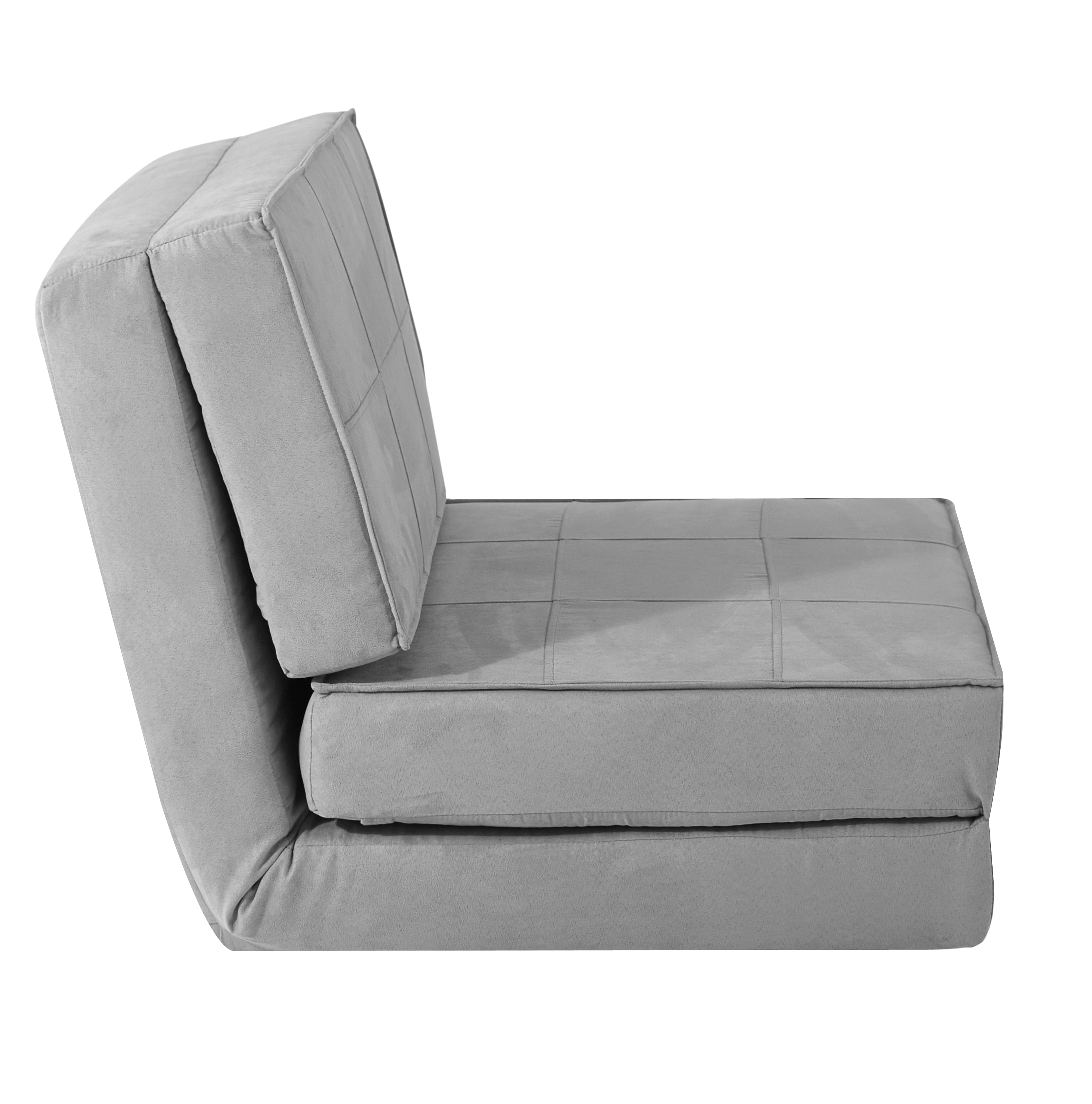 Your Zone Flip Chair Available in Multiple Colors Walmart