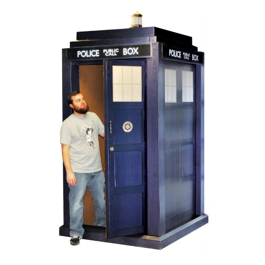 Doctor Who 3D Lifesized TARDIS