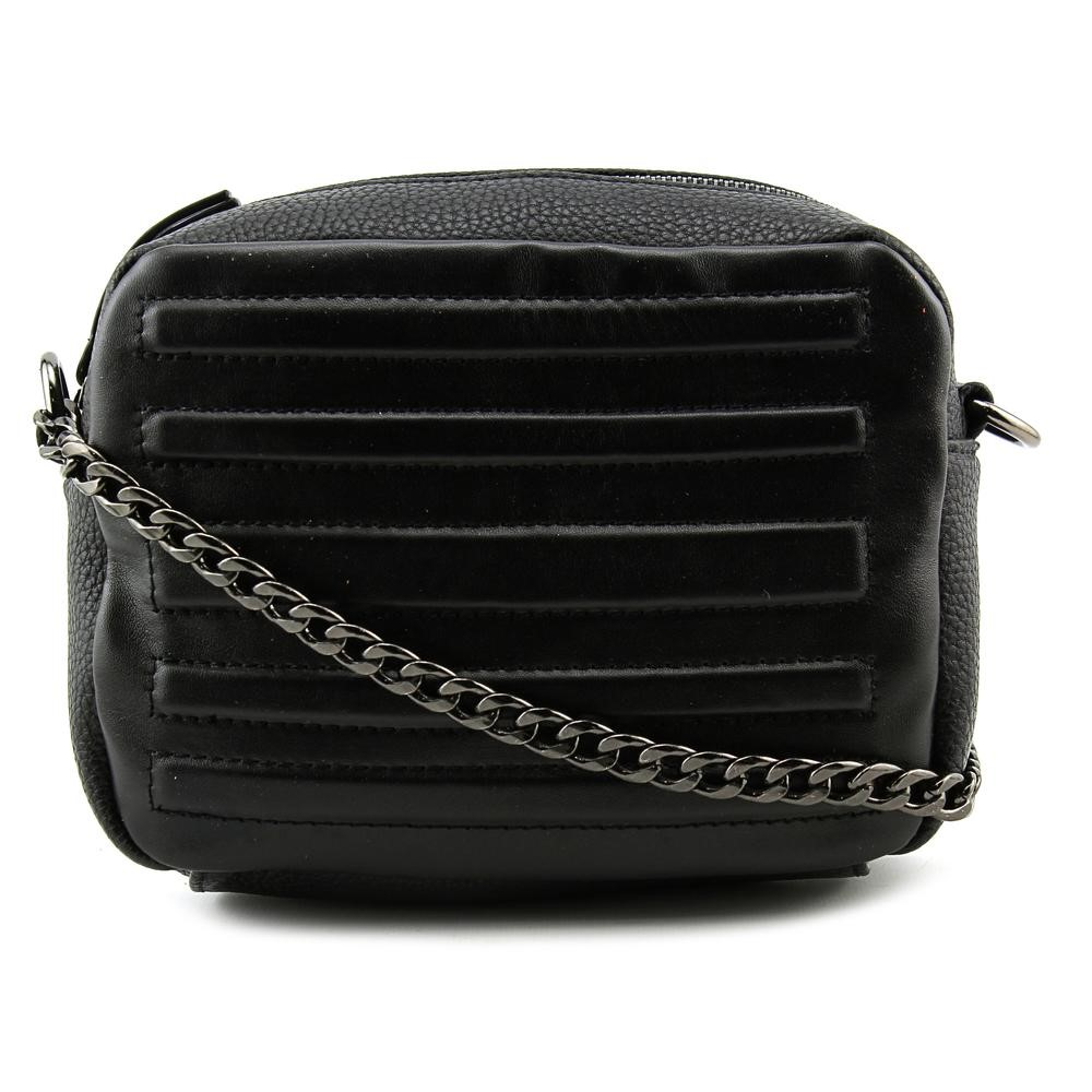 gx by Gwen Stefani Womens Jace Textured Lined Crossbody Handbag