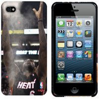 LeBron James Miami Heat iPhone 5 Chalk Toss Phone Case - No Size