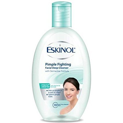 Pimple Fighting Facial Deep Cleanser with Anti-Bacterial Formula 225mL By