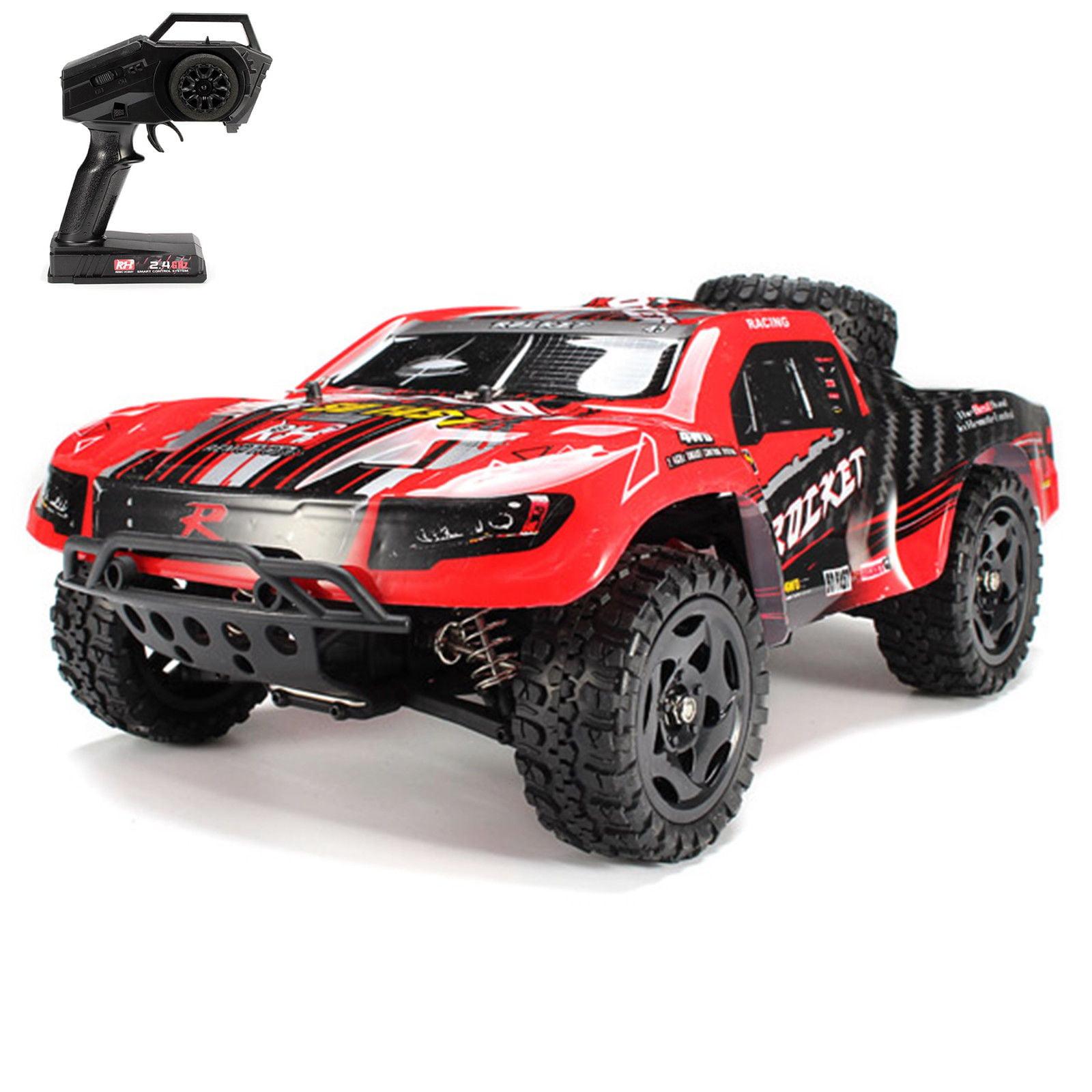 Remo 1621 Rc Car 1 16 2 4g 4wd 50km H Waterproof Brushed Short Course Suv Truck Walmart Com Walmart Com