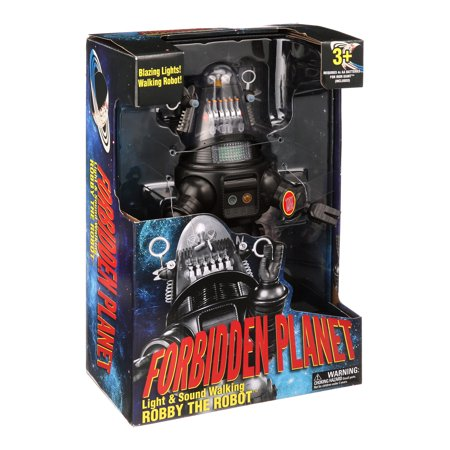 Light & Sound Walking Robby the Robot