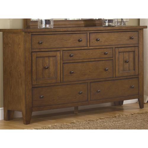 Liberty Heathstone Rustic Oak 8-drawer Dresser