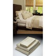 Home Source 51500CKO05 100 Percent Bamboo Cal King Fitted Sheet - Hemp