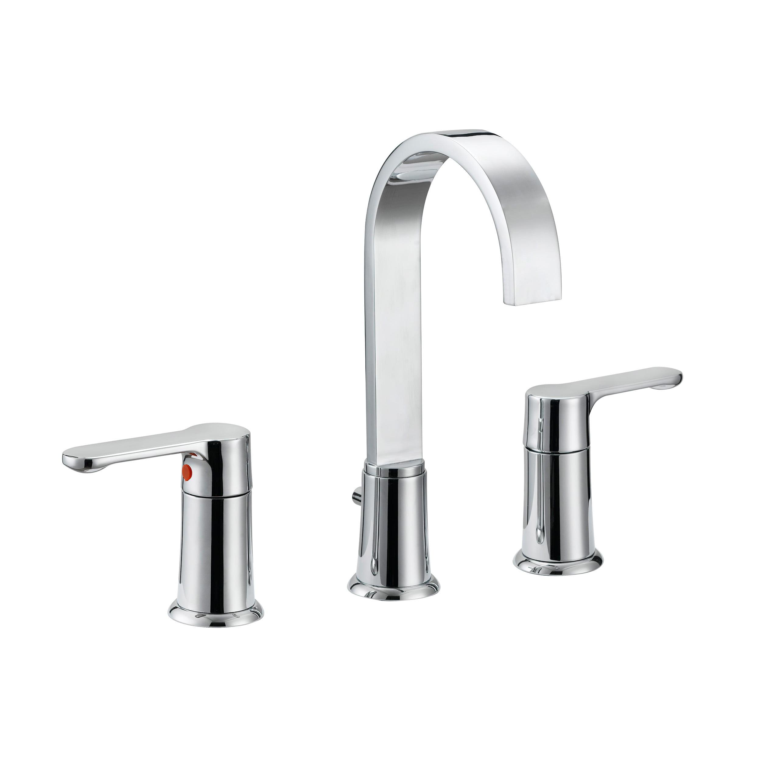Safavieh Solea Placid Bathroom Faucet In Chrome Walmart Com Walmart Com