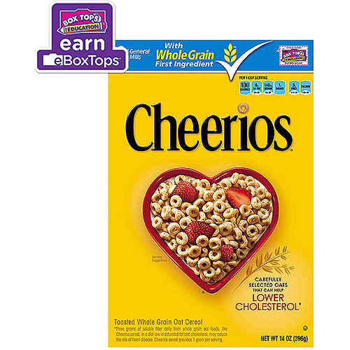 Cheerios Toasted Whole Grain Oat Cereal, 14 oz