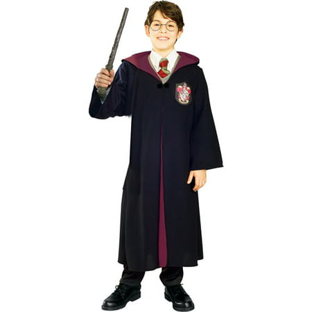 Harry Potter Deluxe Child Halloween Costume - Black Dress Halloween Costume Diy