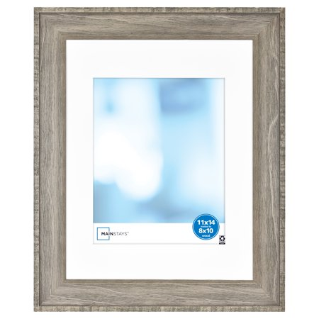 Mainstays 11x14 Inch Rustic Wood Gallery Frame