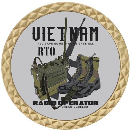 Vietnam RTO Challenge Coin