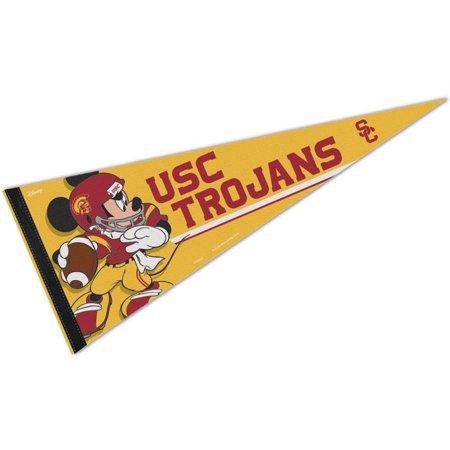 Southern Cal USC Trojans Disney Mickey Mouse Pennant Usc Trojans Pennant