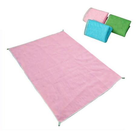 Beach mat summer beach mat sand free rug picnic blanket dirt dust outdoor event portable mat
