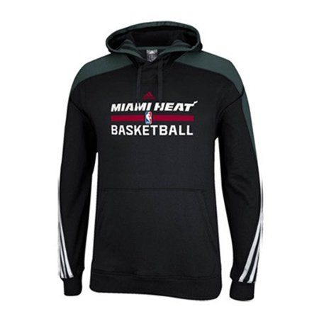 Adidas Miami Heat Pullover Hooded Sweatshirt Mens by