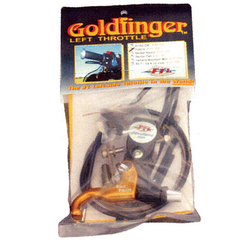 GOLDFINGER LEFT HAND THROTTLE KIT ARCTIC CAT