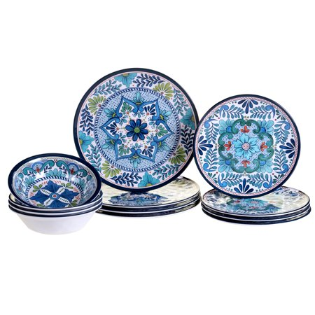 Talavera 12 pc Dinnerware Set - Overstock Dinnerware