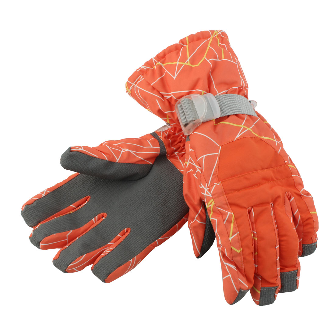 Outdoor Cycling Biking Snowmobile Snowboard Ski Gloves Athletic Mittens Orange S by