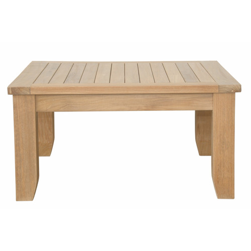 Anderson Teak Luxe Square Outdoor Coffee Table by Anderson Teak
