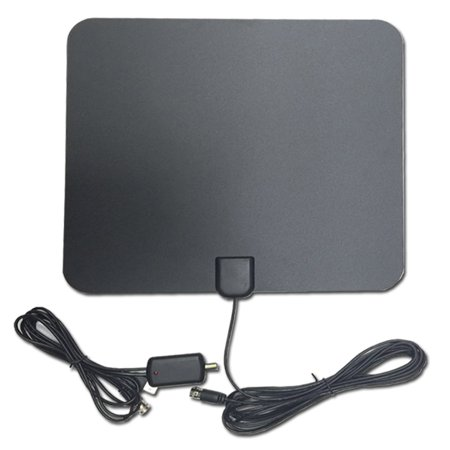 Digital HDTV Antenna, HD Digital Indoor TV Antenna Upgraded Version, New Free Skywire Easy Channels 20