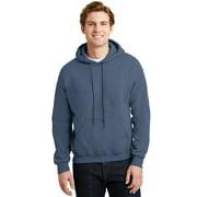Gildan Men's Long Sleeve Front Pouch Pocket Hooded Sweatshirt. 18500