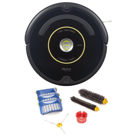 Irobot Roomba 650 Robotic Vacuum Cleaner W  Replenishment Kit