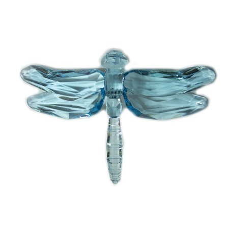 Dragonfly Ornaments (Crystal Expressions Acrylic 4x6 Inch Solid Color Dragonfly Ornament/)