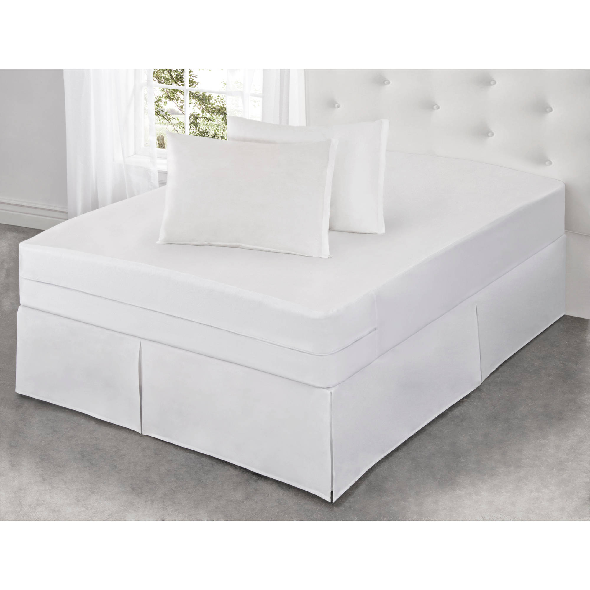Luxury Cotton Rich Bed Bug Blocker Pillow Protector Standard