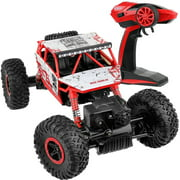 Click N? Play R/C Remote Control 4WD Off Road All-Weather Rock Crawler vehicle 2.4 GHz Red